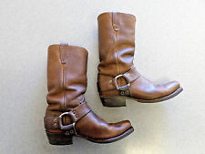 Durango brown leather, harness boots, Men's 7.5 D made in USA