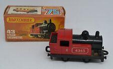 Matchbox Lesney Vintage no. 43 Steam Locomotive NEAR MINT     Lovely!  WP