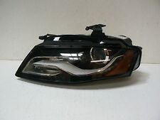 09 10 11 12 Audi A4 S4 Xenon HID Headlight LH Left Driver Side NON-AFS OEM