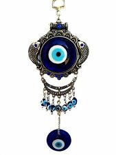Blue Evil Eye Charm Almulet  Hanging or Wall Decoration for Protection