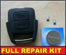 Opel Astra Vectra Zafira 2 Botones Llave Mando Funda Escudo Kit De Reparación