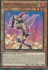 3 X YU-GI-OH ULTRA RARE: APPLE MAGICIAN GIRL - MVP1-EN015 - 1st EDITION