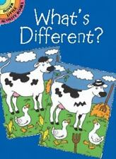 What's Different? (Dover Little Activity Books), Fran Newman-D'Amico, Good Book
