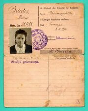 LATVIA GERMANY Identity document (two languages) PHOTO WITH WOMAN 12