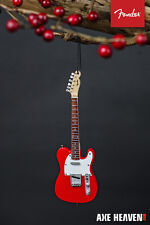 Officially Licensed Fender 50s Red Telecaster Mini Guitar Holiday Ornament