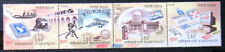 INDIA 2004 100 YEARS OF INDIA POST SETENANT STRIP OF 4 MINT MNH STAMP Cat 150/-