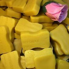 2x 1oz bars ORGANIC Beeswax Cosmetic Grade Filtered Pure Yellow Bees wax