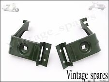 BRAND NEW JEEP MB FORD GPW 41-45 HEADLIGHT BRACKET SUPPORT GREEN (PAIR)