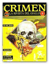 rivista CRIMEN n. 4 Ed Cioè - KRIMINAL Magnus