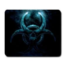 Blue Glowing Bio hazard Mouse Pad MP397