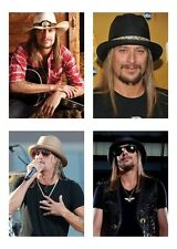 4 Music Singer Kid Rock 5 x 7 GLOSSY * 4 Photo Picture LOT