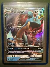 Lapras GX 35/149 Sun and Moon Base Set Ultra Rare Holo Pokemon Card TCG MINT
