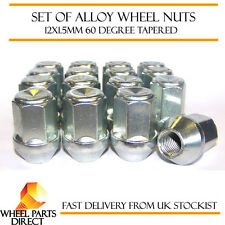 Set of 16 * 12x1.5mm 12x1.5 Alloy Steel Wheel Lug Nuts 60 Degree Tapered Bolts