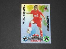 GEROMEL 1.FC KÖLN TOPPS MATCH ATTAX PANINI FOOTBALL BUNDESLIGA 2010-2011