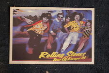 The Rolling Stones Poster 1976 Tour of Europe