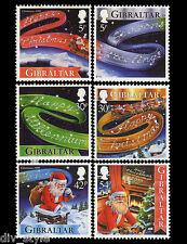 Christmas set of 6 mnh stamps 1999 Gibraltar New Year's Greetings