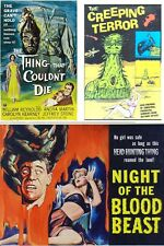 THING THAT COULDNT DIE 1958 NIGHT OF THE BLOOD BEAST1958 CREEPING TERROR 1964