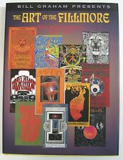 Art of the Fillmore **RARE SIGNED** Poster Series Bill Graham Presents Harcover