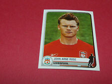 188 JOHN ARNE RIISE LIVERPOOL UEFA PANINI FOOTBALL CHAMPIONS LEAGUE 2005 2006