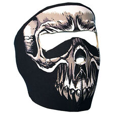Evil Skull Neoprene Full Facemask Lightweight Stretchable velcro closure OSFM