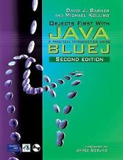 Objects First With Java: A Practical Introduction Using BlueJ (2nd Edition)