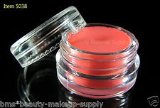 12 Empty Lip Balm Containers Cosmetic Beauty Sample Jars Cear Cap 3 Gram | 5038