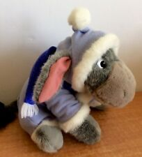 EEYORE SPECIAL EDITION HOLIDAY PLUSH DISNEY PARKS WINTER SUIT SCARF SOFT RARE
