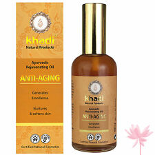 Khadi Natural Anti Ageing Face &  Body Oil 100ml FREE **P&P**