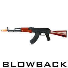 Blowback Airsoft Full Metal AK47 Real Wood Automatic Rifle AK-74 JG Gun JG1012