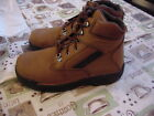 "Wolverine 6"" Opanka ST Boot 10.5 WE Euro 43.5 W Brown Durashock $239.95"