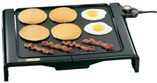 Presto 07050 Foldaway Indoor Cool Touch Electric Griddle