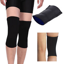 Sports Leg Knee Patella Support Brace Wrap Protector Pad Sleeve Elastic Black