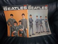 THE BEATLES GENUINE -1963 PYX PUBLICATION MAGAZINE UNIQUE PHOTOS INTERVIEWS ETC