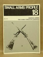 Vtg 1973 Small Arms Profile #18 Enfield Arms Early Breech Loaders Book Magazine