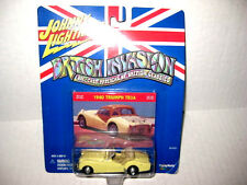 JOHNNY LIGHTNING 1/64 BRITISH INVASION 1960 TRIUMPH TR3A DIECAST CONVERTIBLE-New