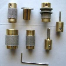 STAINED GLASS DIAMOND GRINDER BIT HEAD 7 SIZES ALL U NEED TOP QUALITY BRASS CORE