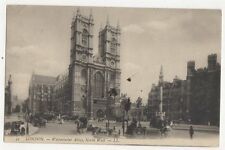 London Westminster Abbey North West 1907 LL Postcard 296a