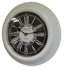 style ancienne horloge pendule de gare restaurant bar cuisine salon indutriel