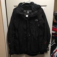 North Face Gore-Tex Summit Series Jacket 5 Pocket Black Hiking Parka Rain Jacket