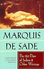 120 Days of Sodom and Other Writings by Marquis de Sade (1994, Paperback)