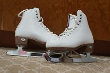 Riedell  Figure Ice Skates Women's Size 5 -WHITE
