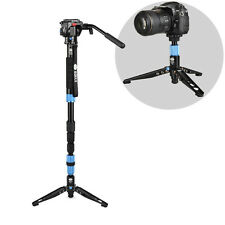 Sirui P-204S Aluminum Monopod Tripod For Camera VA-5 Video Head 4 Joint
