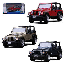 Maisto Jeep Wrangler Rubicon Metal Alloy Diecast Model Toy Car Interior Decor