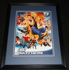 2004 Skechers Framed 11x14 ORIGINAL Advertisement Put the S in Action