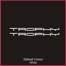 Clio Trophy Boot/Bonnet Decals x2, Clio, Vinyl, Sticker, Graphics,Car,N2063