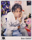 Bob Geldof HAND Signed 8x10 Photo, Autograph, Boomtown Rats, Live Aid, Band Aid