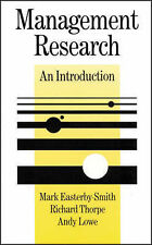 Management Research: An Introduction (SAGE Series in Management Research), Mark