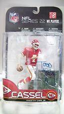 McFarlane NFL Series 22 Matt Cassel Figure Autographed by Todd McFarlane 2009