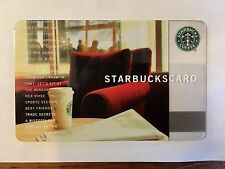 Starbucks Card - 2004 Comfy Red Chair - Excellent condition, PIN Intact!