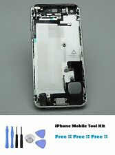 NUOVO iPhone 5 Spazio Grigio RICAMBIO housing back Cover + Inner Parts & Tool